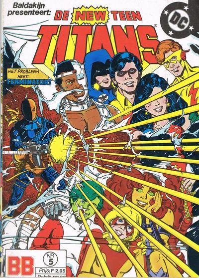 Cover for De New Teen Titans (JuniorPress, 1985 series) #5