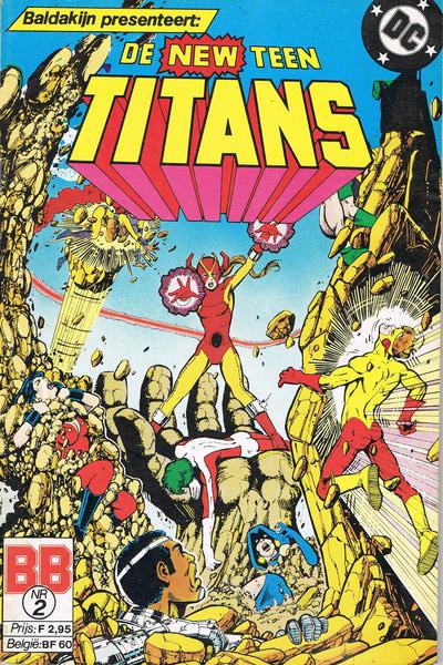Cover for De New Teen Titans (JuniorPress, 1985 series) #2