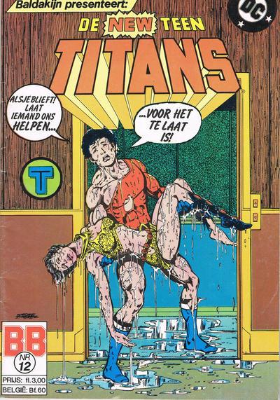 Cover for De New Teen Titans (JuniorPress, 1985 series) #12