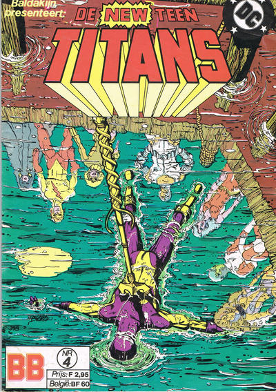 Cover for De New Teen Titans (JuniorPress, 1985 series) #4