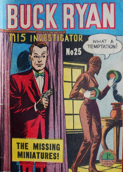 Cover for Buck Ryan (Atlas, 1949 series) #25