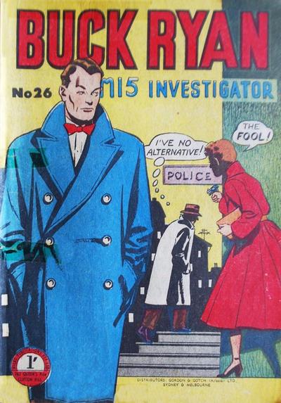 Cover for Buck Ryan (Atlas, 1949 series) #26