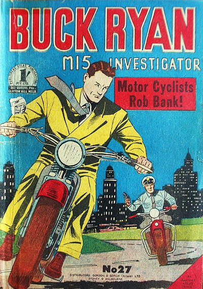 Cover for Buck Ryan (Atlas, 1949 series) #27