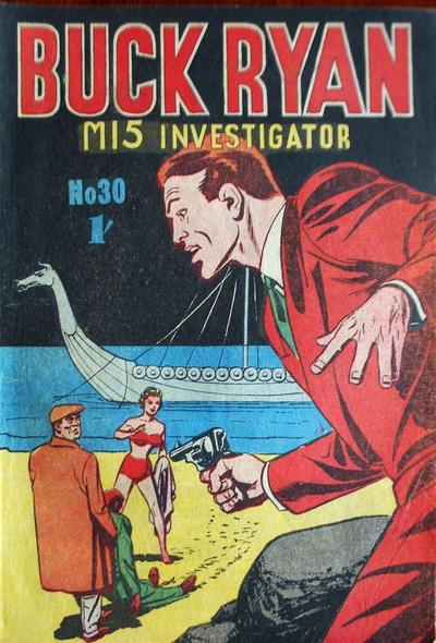 Cover for Buck Ryan (Atlas, 1949 series) #30