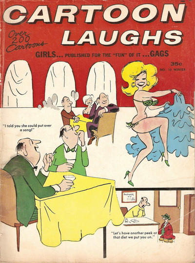Cover for Cartoon Laughs (Marvel, 1962 series) #10
