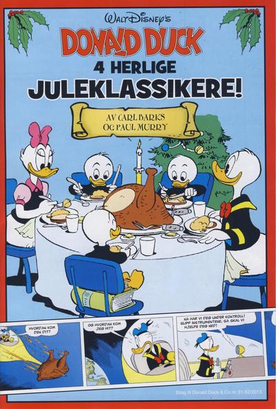 Cover for Bilag til Donald Duck & Co (Hjemmet / Egmont, 1997 series) #51-52/2013