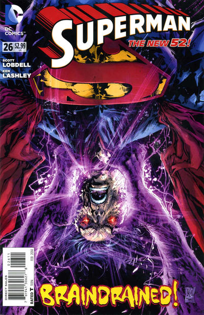Cover for Superman (DC, 2011 series) #26 [Direct Sales]
