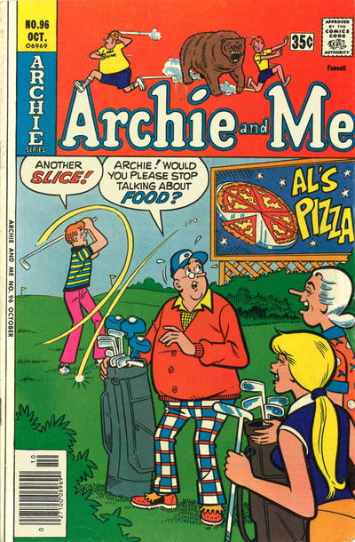 Cover for Archie and Me (Archie, 1964 series) #96