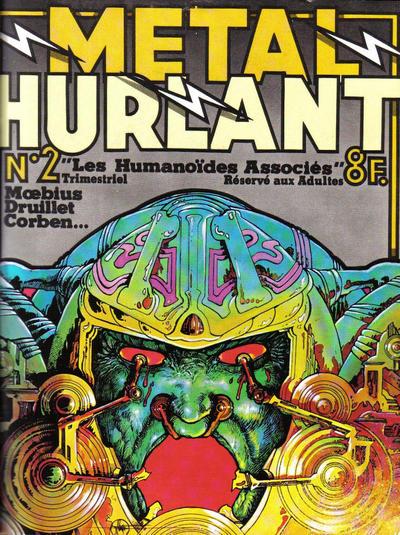 Cover for Métal Hurlant (Les Humanoïdes Associés, 1975 series) #2