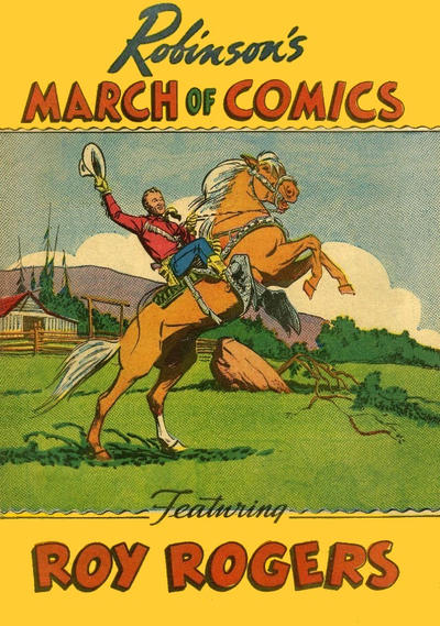 Cover for March of Comics (Western, 1946 series) #47 [Arnold Constable]
