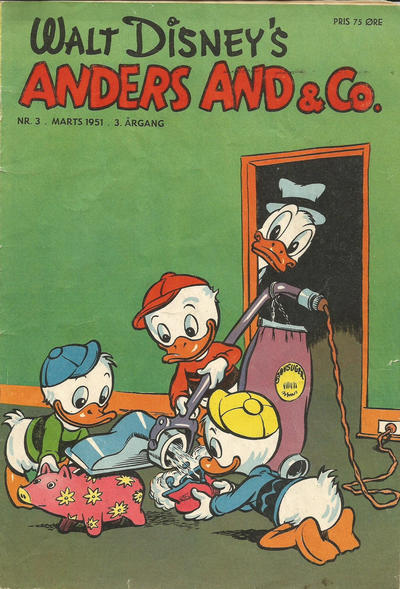 Cover for Anders And & Co. (Egmont, 1949 series) #3/1951
