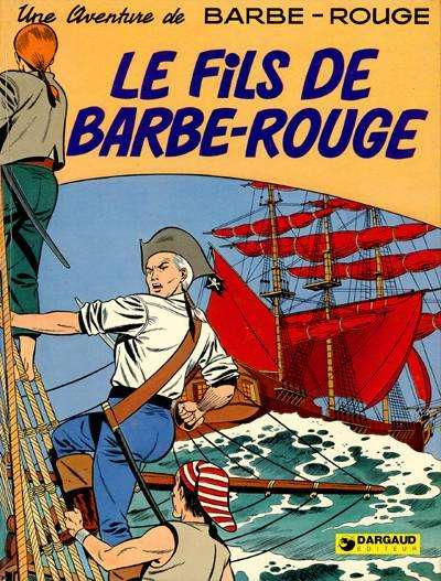 Cover for Barbe-Rouge (Dargaud, 1961 series) #3 - Le fils de Barbe-Rouge [1975-01]