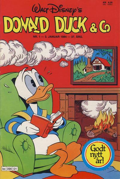 Cover for Donald Duck & Co (Hjemmet / Egmont, 1948 series) #1/1984