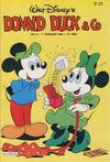 Cover for Donald Duck & Co (Hjemmet / Egmont, 1948 series) #6/1984