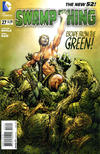 Cover for Swamp Thing (DC, 2011 series) #27