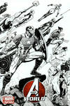 Cover Thumbnail for Avengers World (2014 series) #1 [Arthur Adams Black & White Wraparound Variant]