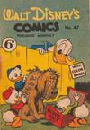 Cover for Walt Disney's Comics (W. G. Publications; Wogan Publications, 1946 series) #47