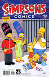 Cover for Simpsons Comics (Bongo, 1993 series) #208