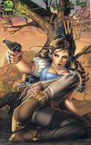 Cover for The Legend of Oz: The Wicked West (Big Dog Ink, 2011 series) #1 [Cover B by Nei Ruffino]