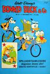 Cover for Donald Duck & Co (Hjemmet / Egmont, 1948 series) #37/1971