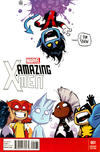 Cover Thumbnail for Amazing X-Men (2014 series) #1 [Marvel Babies Variant by Skottie Young]
