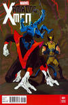 Cover Thumbnail for Amazing X-Men (2014 series) #1 [Kevin Nowlan Variant]
