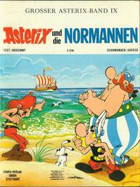Cover Thumbnail for Asterix (Egmont Ehapa, 1968 series) #9 - Asterix und die Normannen [1. Aufl. 1971]