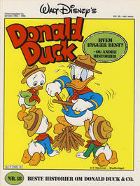 Cover Thumbnail for Walt Disney's Beste Historier om Donald Duck & Co [Disney-Album] (Hjemmet / Egmont, 1978 series) #18 - Hvem bygger best?