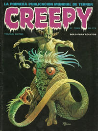 Cover Thumbnail for Creepy (Toutain Editor, 1979 series) #3