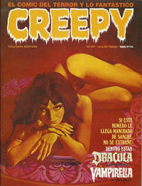 Cover Thumbnail for Creepy (Toutain Editor, 1979 series) #37