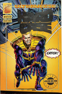 Cover for Hardcase (Malibu, 1993 series) #1 [Regular Edition]
