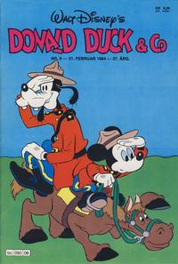 Cover Thumbnail for Donald Duck & Co (Hjemmet / Egmont, 1948 series) #8/1984