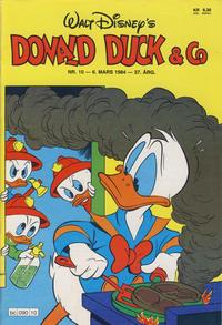 Cover Thumbnail for Donald Duck & Co (Hjemmet / Egmont, 1948 series) #10/1984