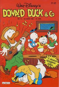 Cover Thumbnail for Donald Duck & Co (Hjemmet / Egmont, 1948 series) #12/1984