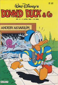 Cover Thumbnail for Donald Duck & Co (Hjemmet / Egmont, 1948 series) #14/1984