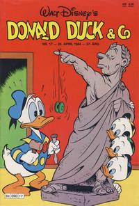 Cover Thumbnail for Donald Duck & Co (Hjemmet / Egmont, 1948 series) #17/1984