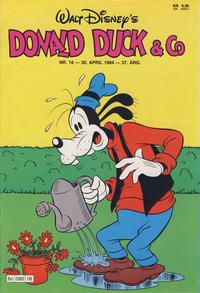 Cover Thumbnail for Donald Duck & Co (Hjemmet / Egmont, 1948 series) #18/1984