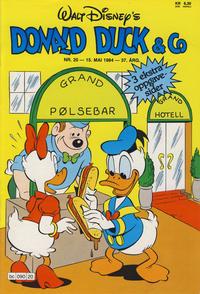 Cover Thumbnail for Donald Duck & Co (Hjemmet / Egmont, 1948 series) #20/1984