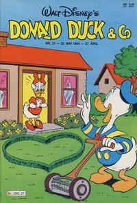 Cover Thumbnail for Donald Duck & Co (Hjemmet / Egmont, 1948 series) #21/1984