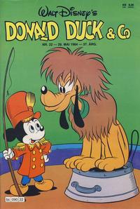 Cover Thumbnail for Donald Duck & Co (Hjemmet / Egmont, 1948 series) #22/1984
