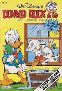 Cover Thumbnail for Donald Duck & Co (Hjemmet / Egmont, 1948 series) #33/1984