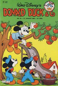 Cover Thumbnail for Donald Duck & Co (Hjemmet / Egmont, 1948 series) #34/1984