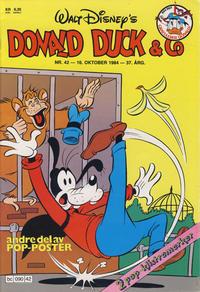 Cover Thumbnail for Donald Duck & Co (Hjemmet / Egmont, 1948 series) #42/1984