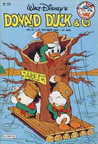 Cover Thumbnail for Donald Duck & Co (Hjemmet / Egmont, 1948 series) #43/1984