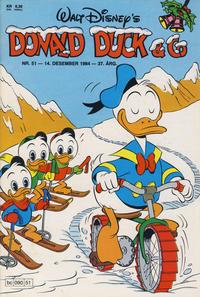 Cover Thumbnail for Donald Duck & Co (Hjemmet / Egmont, 1948 series) #51/1984