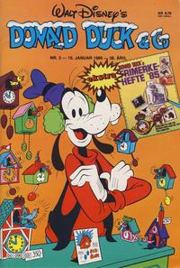 Cover Thumbnail for Donald Duck & Co (Hjemmet / Egmont, 1948 series) #3/1985