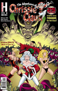 Cover Thumbnail for The Adventures of Chrissie Claus (Heroic Publishing, 1991 series) #4