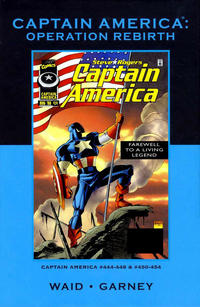 Cover Thumbnail for Marvel Premiere Classic (Marvel, 2006 series) #62 - Captain America: Operation Rebirth [Direct]