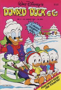 Cover Thumbnail for Donald Duck & Co (Hjemmet / Egmont, 1948 series) #4/1985
