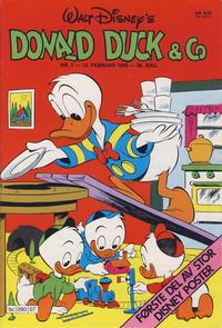 Cover Thumbnail for Donald Duck & Co (Hjemmet / Egmont, 1948 series) #7/1985